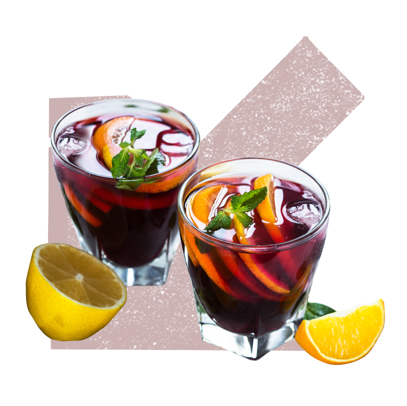Tuck'd Away - Happy Hour-Sangria