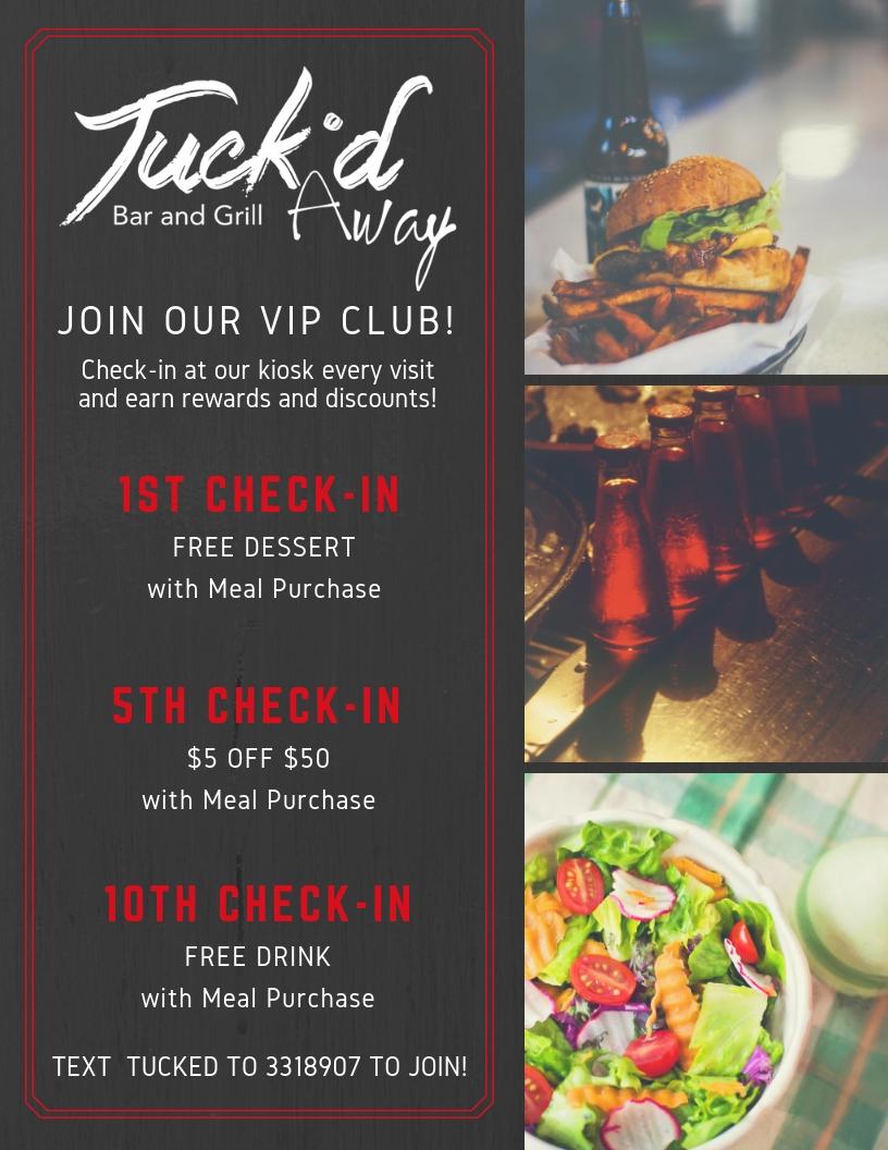 Tuckd-Checkin Promo